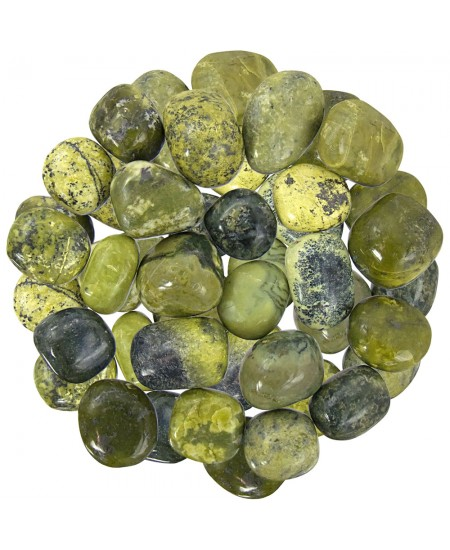 Serpentine Tumbled Stones - 1 Pound Bag at Mystic Convergence Metaphysical Supplies, Metaphysical Supplies, Pagan Jewelry, Witchcraft Supply, New Age Spiritual Store