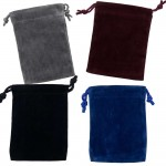 Velvet Small Pouch Assortment Pack of 12 at Mystic Convergence Metaphysical Supplies, Metaphysical Supplies, Pagan Jewelry, Witchcraft Supply, New Age Spiritual Store