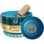 Throat Chakra Small Singing Bowl Set at Mystic Convergence Metaphysical Supplies, Metaphysical Supplies, Pagan Jewelry, Witchcraft Supply, New Age Spiritual Store