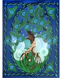 Tree of Life Tapestry Mystic Convergence Metaphysical Supplies Metaphysical Supplies, Pagan Jewelry, Witchcraft Supply, New Age Spiritual Store