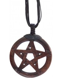 Wood Pentacle Large Pendant Mystic Convergence Metaphysical Supplies Metaphysical Supplies, Pagan Jewelry, Witchcraft Supply, New Age Spiritual Store