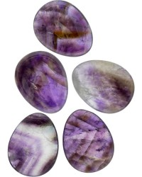 Amethyst Worry Stone Mystic Convergence Metaphysical Supplies Metaphysical Supplies, Pagan Jewelry, Witchcraft Supply, New Age Spiritual Store