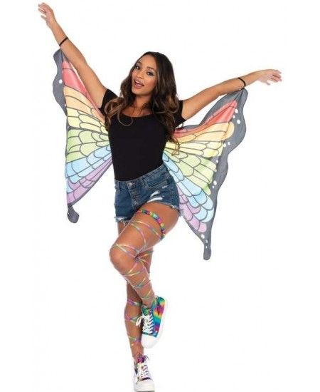Rainbow Mini Butterfly Festival Wings at Mystic Convergence, Wiccan Supplies, Pagan Jewelry, Witchcraft Supplies, New Age Store