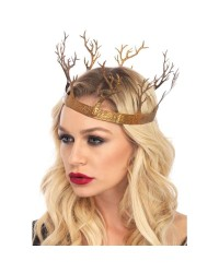 Golden Forest Crown Mystic Convergence Magical Supplies Wiccan Supplies, Pagan Jewelry, Witchcraft Supplies, New Age Store