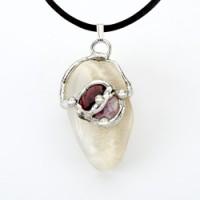 Goddess Gemdrop Crystal Pendant