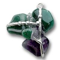 Healing Gemstone Amulet