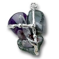 Earth Gemstone Grounding Amulet