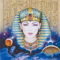 Egyptian Greeting Card with CD