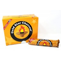 Gold Star Charcoal Discs - Small 33 MM - Box of 100