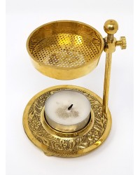 Brass Resin Incense Burner