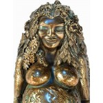 Millennial Gaia Mother Earth Statue - Bronze at Mystic Convergence, Wicca Supplies, Pagan Jewelry, Witchcraft Supply, New Age Magick