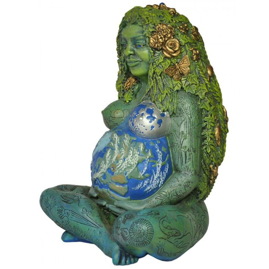 Millennial Gaia Statue by Oberon Zell - Mother Earth Gaia