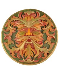 Green Man Autumn Plaque Mystic Convergence Metaphysical Supplies Metaphysical Supplies, Pagan Jewelry, Witchcraft Supply, New Age Spiritual Store