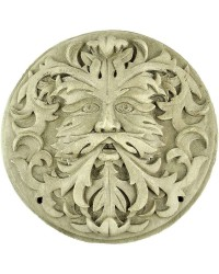 Green Man Winter White Plaque Mystic Convergence Metaphysical Supplies Metaphysical Supplies, Pagan Jewelry, Witchcraft Supply, New Age Spiritual Store