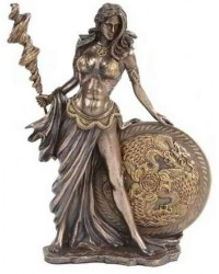 Frigga Norse Goddess Bronze Statue Mystic Convergence Metaphysical Supplies Metaphysical Supplies, Pagan Jewelry, Witchcraft Supply, New Age Spiritual Store