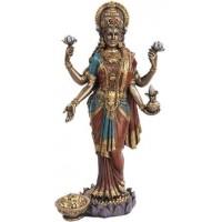 Lakshmi, HIndu Goddess of Wealth Statue