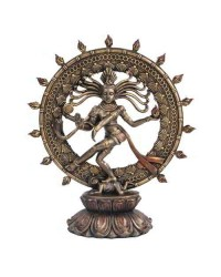 Shiva Nataraja Lord of Dancers Hindu Bronze 9 Inch Statue Mystic Convergence Metaphysical Supplies Metaphysical Supplies, Pagan Jewelry, Witchcraft Supply, New Age Spiritual Store