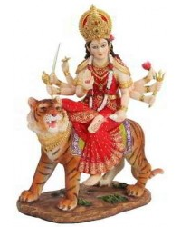 Durga, Hindu Goddess of Justice Statue Mystic Convergence Metaphysical Supplies Metaphysical Supplies, Pagan Jewelry, Witchcraft Supply, New Age Spiritual Store