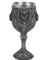 Gothic Dragon Wine Goblet