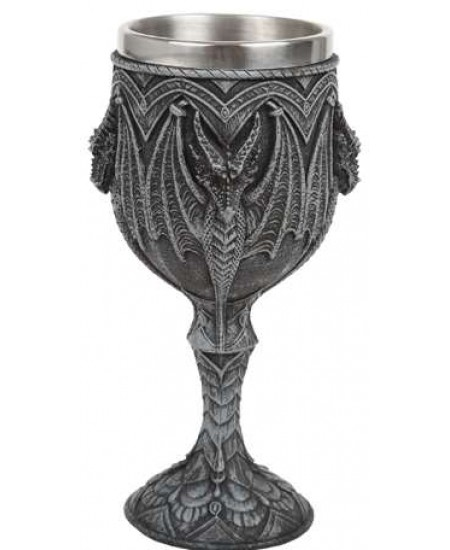 Gothic Dragon Wine Goblet at Mystic Convergence Metaphysical Supplies, Metaphysical Supplies, Pagan Jewelry, Witchcraft Supply, New Age Spiritual Store