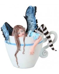 I Need Coffee Fairy Statue Mystic Convergence Metaphysical Supplies Metaphysical Supplies, Pagan Jewelry, Witchcraft Supply, New Age Spiritual Store