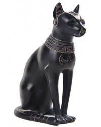 Bastet Egyptian Cat Goddess Basalt Finish Statue Mystic Convergence Metaphysical Supplies Metaphysical Supplies, Pagan Jewelry, Witchcraft Supply, New Age Spiritual Store