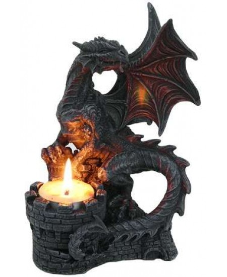 Dragon Candle Holder at Mystic Convergence Metaphysical Supplies, Metaphysical Supplies, Pagan Jewelry, Witchcraft Supply, New Age Spiritual Store