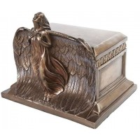 Rising Angel Bronze Memorial Urn
