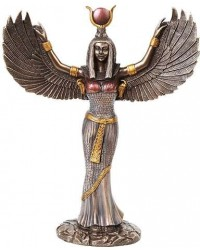 Winged Isis Egyptian Goddess Statue - 12 Inches Mystic Convergence Metaphysical Supplies Metaphysical Supplies, Pagan Jewelry, Witchcraft Supply, New Age Spiritual Store