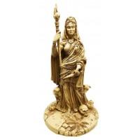 Hecate Greek Goddess of the Crossroads Bone Resin Statue