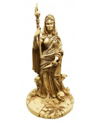 Hecate Greek Goddess of the Crossroads Bone Resin Statue Mystic Convergence Metaphysical Supplies Metaphysical Supplies, Pagan Jewelry, Witchcraft Supply, New Age Spiritual Store