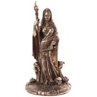 Hecate Greek Goddess of the Crossroads Bronze Resin Statue