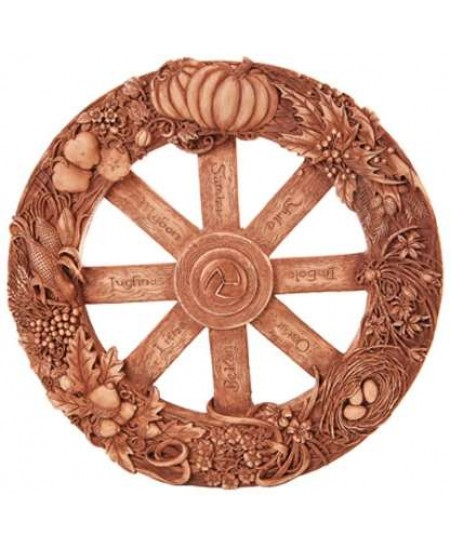 Pagan Wheel of the Year Wall Plaque at Mystic Convergence, Wiccan Supplies, Pagan Jewelry, Witchcraft Supplies, New Age Store
