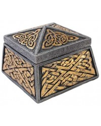 Celtic Knot Lidded Trinket Box Mystic Convergence Metaphysical Supplies Metaphysical Supplies, Pagan Jewelry, Witchcraft Supply, New Age Spiritual Store