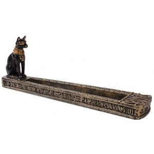 Bastet Egyptian Incense Burner Mystic Convergence Wicca Supplies, Pagan Jewelry, Witchcraft Supply, New Age Magick