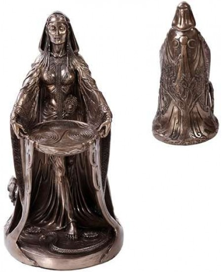 Danu Bronze Celtic Mother Goddess Statue at Mystic Convergence Metaphysical Supplies, Metaphysical Supplies, Pagan Jewelry, Witchcraft Supply, New Age Spiritual Store