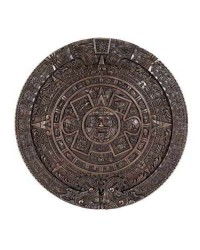 Aztec Solar Calendar Wall Relief Bronze Plaque Mystic Convergence Metaphysical Supplies Metaphysical Supplies, Pagan Jewelry, Witchcraft Supply, New Age Spiritual Store