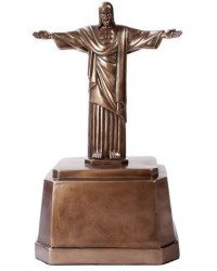 Christ the Redeemer Bronze Memorial Urn Mystic Convergence Metaphysical Supplies Metaphysical Supplies, Pagan Jewelry, Witchcraft Supply, New Age Spiritual Store