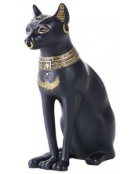 Bastet Small Egyptian Cat Statue Mystic Convergence Metaphysical Supplies Metaphysical Supplies, Pagan Jewelry, Witchcraft Supply, New Age Spiritual Store