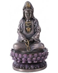 Kuan Yin Small Bronze Resin Mystic Convergence Metaphysical Supplies Metaphysical Supplies, Pagan Jewelry, Witchcraft Supply, New Age Spiritual Store