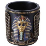 King Tut Utility Cup Holder at Mystic Convergence Metaphysical Supplies, Metaphysical Supplies, Pagan Jewelry, Witchcraft Supply, New Age Spiritual Store