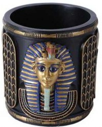 King Tut Utility Cup Holder Mystic Convergence Metaphysical Supplies Metaphysical Supplies, Pagan Jewelry, Witchcraft Supply, New Age Spiritual Store