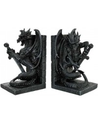 Dragon Heraldic Bookends Mystic Convergence Metaphysical Supplies Metaphysical Supplies, Pagan Jewelry, Witchcraft Supply, New Age Spiritual Store