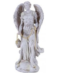 Archangel Saeltiel Small Christian Statue Mystic Convergence Metaphysical Supplies Metaphysical Supplies, Pagan Jewelry, Witchcraft Supply, New Age Spiritual Store