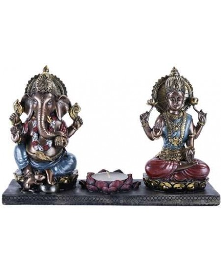 Ganesha and Krishna Candle Holder at Mystic Convergence Metaphysical Supplies, Metaphysical Supplies, Pagan Jewelry, Witchcraft Supply, New Age Spiritual Store