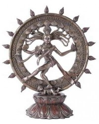 Shiva Nataraja Lord of Dancers Hindu Bronze Resin Statue Mystic Convergence Metaphysical Supplies Metaphysical Supplies, Pagan Jewelry, Witchcraft Supply, New Age Spiritual Store