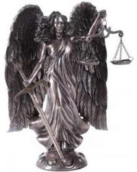 Archangel Raquel Bronze Statue by Derek W Frost Mystic Convergence Metaphysical Supplies Metaphysical Supplies, Pagan Jewelry, Witchcraft Supply, New Age Spiritual Store