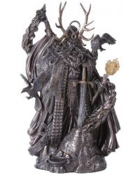 Merlin, Master of Magic Statue with Excalibur Mystic Convergence Metaphysical Supplies Metaphysical Supplies, Pagan Jewelry, Witchcraft Supply, New Age Spiritual Store