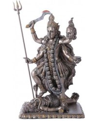 Kali Bronze Resin Hindu Goddess of Destruction Statue Mystic Convergence Metaphysical Supplies Metaphysical Supplies, Pagan Jewelry, Witchcraft Supply, New Age Spiritual Store