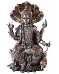 Vishnu Bronze Resin Hindu God Statue Mystic Convergence Metaphysical Supplies Metaphysical Supplies, Pagan Jewelry, Witchcraft Supply, New Age Spiritual Store